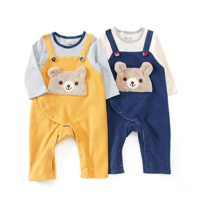 Piccolo (ピッコロ ) カバーオール (70〜80cm) 男の子 冬物 70cm 80cm キムラタンの子供服