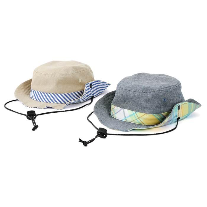 La Chiave (ラ キエーベ ) 帽子 (48〜56cm) 男の子 初夏物 48cm 50cm 52cm 54cm 56cm キムラタンの子供服