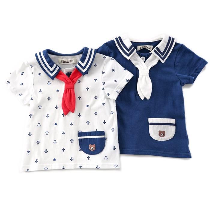 Piccolo (ピッコロ ) 半袖Tシャツ (70〜90cm) 男の子 夏物 70cm 80cm 90cm キムラタンの子供服