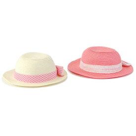 【50%OFF SALE アウトレットセール】coeur a coeur (クーラクール ) 帽子 (46〜50cm) 女の子 夏物 46cm 48cm 50cm キムラタン 子供服 あす楽