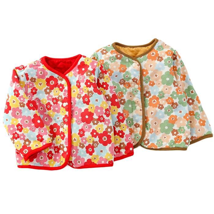【あす楽】Youpi! (ユッピー ) リバーシブルジャケット (80〜130cm) 女の子 秋物 80cm 90cm 95cm 100cm 110cm 120cm 130cm キムラタンの子供服