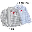 mothergoose(マザーグース)長袖シャツ(80〜130cm)男の子春物80cm90cm95cm100cm110cm120cm130cmキムラタンの子供服