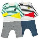 mothergoose(マザーグース)カバーオール(70〜80cm)男の子春物70cm80cmキムラタンの子供服