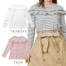 【ママ】dolcina(ドルチーナ)長袖フリルTシャツ(フリ−)女の子春物キムラタンの子供服