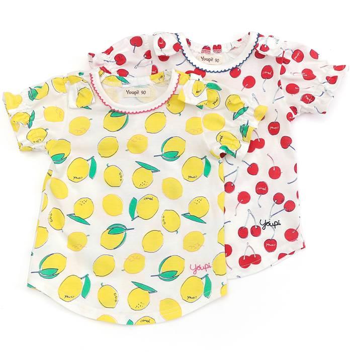 Youpi! (ユッピー ) Tシャツ(半袖) (80〜130cm) 女の子 初夏物 80cm 90cm 95cm 100cm 110cm 120cm 130cm キムラタン 子供服 あす楽