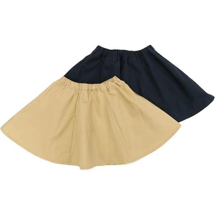 Youpi! (ユッピー ) リバーシブルスカート (80〜130cm) 女の子 初夏物 80cm 90cm 95cm 100cm 110cm 120cm 130cm キムラタン 子供服 あす楽