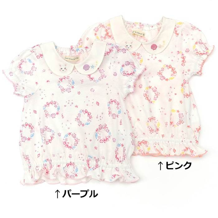 coeur a coeur (クーラクール ) 半袖Tシャツ (70〜100cm) 女の子 夏物 70cm 80cm 90cm 95cm 100cm キムラタン 子供服 あす楽
