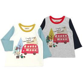 Piccolo (ピッコロ ) 長袖Tシャツ (70〜95cm) 男の子 秋物 70cm 80cm 90cm 95cm キムラタン 子供服 あす楽