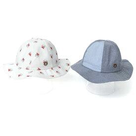 【50%OFF SALE アウトレットセール】Piccolo (ピッコロ ) 帽子 (46〜50cm) 男の子 46cm 48cm 50cm キムラタン 子供服 半額以下 [雑貨]bbySM