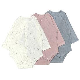【送料無料】愛情設計 【日本製】 前開き長袖ボディシャツ (60〜70cm) 女の子 男の子 60cm 70cm キムラタン 子供服[肌着] bbyAW/bbySP/bbySM
