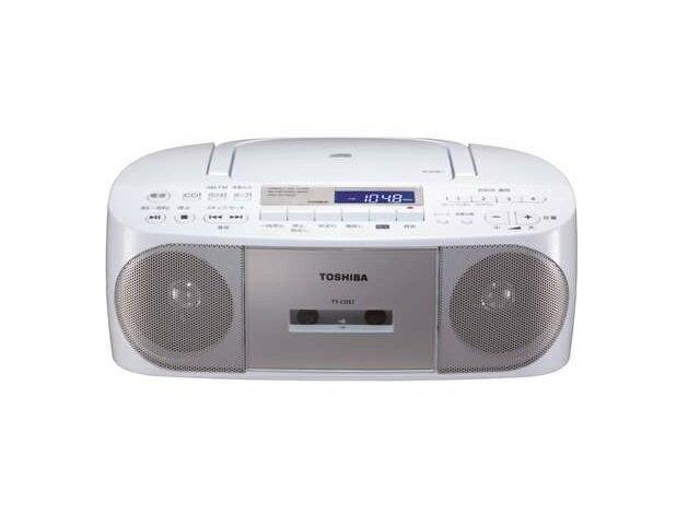 【納期約7〜10日】3TY-CDS7(S) [TOSHIBA 東芝] CDラジオカセットレコーダー CUTEBEAT TYCDS7(S) シルバー