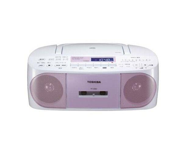 【納期約7〜10日】TY-CDS7(P) [TOSHIBA 東芝] CDラジオカセットレコーダー CUTEBEAT TYCDS7(P) ピンク
