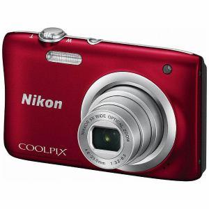 【在庫あり翌営業日発送OK A-8】【お一人様1台限り】A100RD 【送料無料】Nikon ニコン デジタルカメラ 「COOLPIX(クールピクス)」 A100 レッド