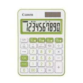 【納期約2週間】 LS-105WUC-GR Canon キヤノン ミニ卓上電卓 10桁 LS105WUCGR