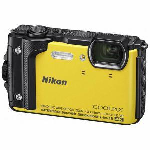 【お一人様1台限り】【納期約3週間】Nikon ニコン W300YW デジタルカメラ COOLPIX(クールピクス) W300(イエロー) COOLPIXW300YW