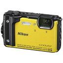 【お一人様1台限り】◆【在庫あり翌営業日発送OK A-8】Nikon ニコン W300YW デジタルカメラ COOLPIX(クールピクス) …