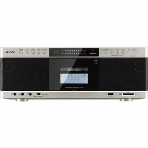 【納期約2週間】TY-AK1(N)[TOSHIBA 東芝] ハイレゾ音源対応 Aurexシリーズ SD/USB/CDラジオカセットレコーダー サテンゴールド TYAK1N
