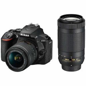【お一人様1台限り】【納期約4週間】Nikon ニコン D5600-W70300KIT デジタル一眼カメラ「D5600」ダブルズームキット D5600W70300KIT