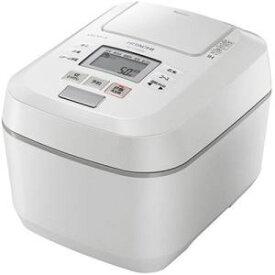 【納期約7〜10日】HITACHI 日立 RZ-V100DM W 圧力&スチームIHジャー炊飯器 ふっくら御膳 5.5合炊き パールホワイト RZV100DM W
