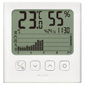 【納期約7〜10日】タニタ TT-580-WH デジタル温湿度計 ホワイトTT580