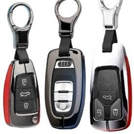 アウディ車用ABC(全3タイプ) アイアンレザー スマートキーケース キーカバー audi A1 A3 A4 A5 A6 A7 A8 Q2 Q3 Q5 Q7 R8 RS3 RS4 RS5 RS6 RS7 S1 S3 S4 S5 S6 S7 S8 SQ5 TT クーペ ロードスター/送料無料