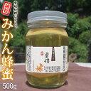 愛媛産 純粋みかん蜂蜜500g 【R2年産】 爽やかな蜜柑はちみつ
