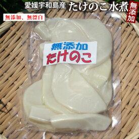 【新物入荷】愛媛県産たけのこ水煮 容量180g 柑橘類に同梱できる!無漂白/薬品不使用