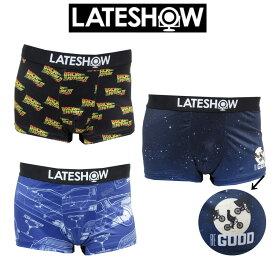レイトショー LATESHOW ボクサーパンツ 送料無料 映画 コラボ アンダーウェア メンズ 下着 男性 ブランド バックトゥーザフューチャー E.T.