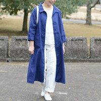 あっこたん×キナル×foglinenworkあっこたんと作る理想のお洋服そよかぜコートブルーヴィオレ