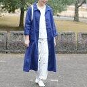 あっこたん×キナル× fog linen work あっこたんと作る理想のお洋服 そよかぜコート ブルーヴィオレ