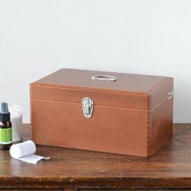 倉敷意匠 木製 ツガの救急箱 Lサイズ[17098-06]【計画室 おしゃれ かわいい 薬箱 日本製 国産】