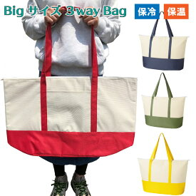 送料無料 エコバッグ エコバック 大き目 大容量 保冷 保温 バッグ クーラーバッグ 背負える ギガ おしゃれ Lサイズ ビッグサイズ コストコ まとめ買い シンプル 運動会 海 プール