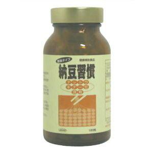 【株式会社ジャード】納豆習慣 ナットウキナーゼ含有 180粒 (無臭タイプ)※お取り寄せ商品の為、発送まで数日お時間をいただきます