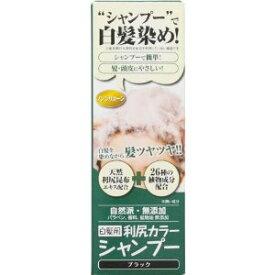 利尻昆布 カラーシャンプー (シャンプー・染毛料) 【ブラック】 《白髪用》 200g