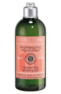 送料無料!!ロクシタン ファイブハーブス リペアリングシャンプー 300ml (L'OCCITANE repairing shampoo)
