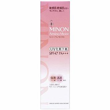【第一三共ヘルスケア】ミノン アミノモイスト ブライトアップベース UV 25g