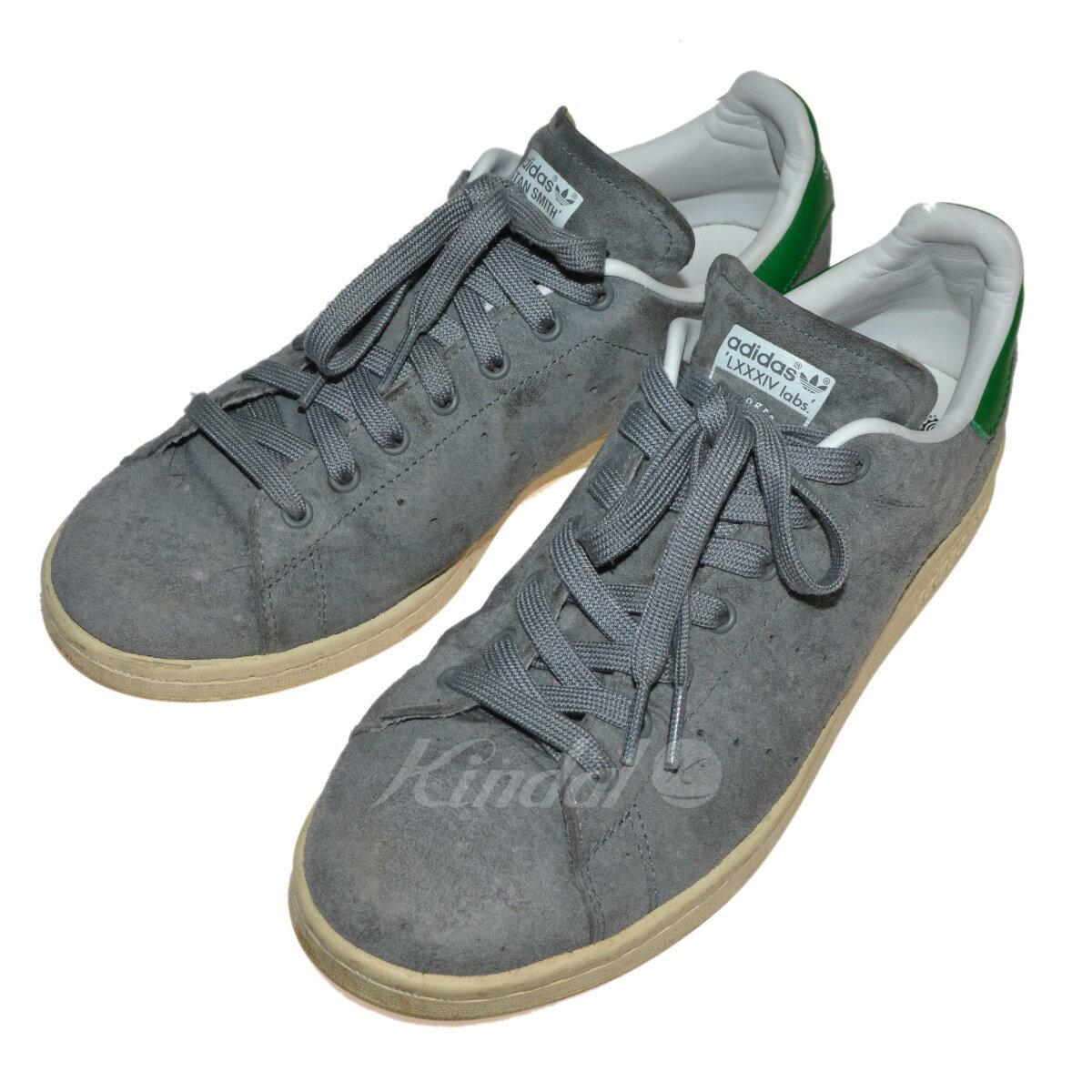 【中古】adidas 「84Lab スタンスミス」スニーカー グレー サイズ:26.5cm 【131217】(アディダス)