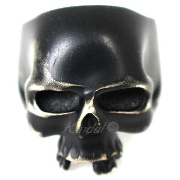 【中古】JAM HOME MADE & ready made ブラックコーティング スカルリング ブラック サイズ:− 【送料無料】 【170118】(ジャムホームメイド&レディメイド)