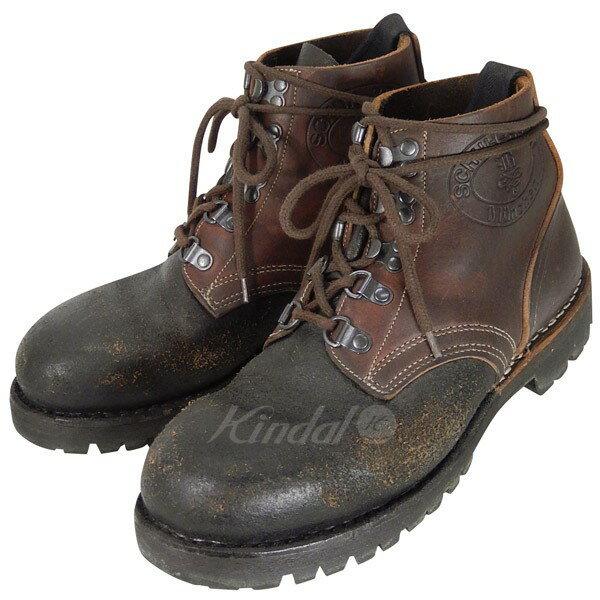 【中古】SCHUH BERTL BERTL CLASSIC   ベルテルクラシック ブーツ レザー ブラウン サイズ:40 【送料無料】 【210118】(シューベルテル)
