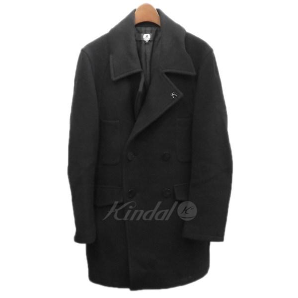 【中古】ANREALAGE ロングPコート ブラック サイズ:46 【送料無料】 【080218】(アンリアレイジ)