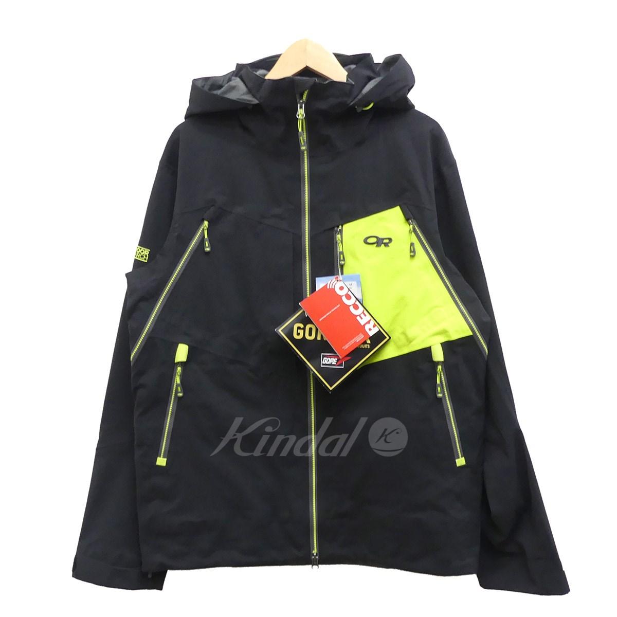 【中古】OUTDOOR RESEARCH マウンテンジャケット WHITE ROOM JACKET ブラック サイズ:M 【送料無料】 【080218】(アウトドアリサーチ)