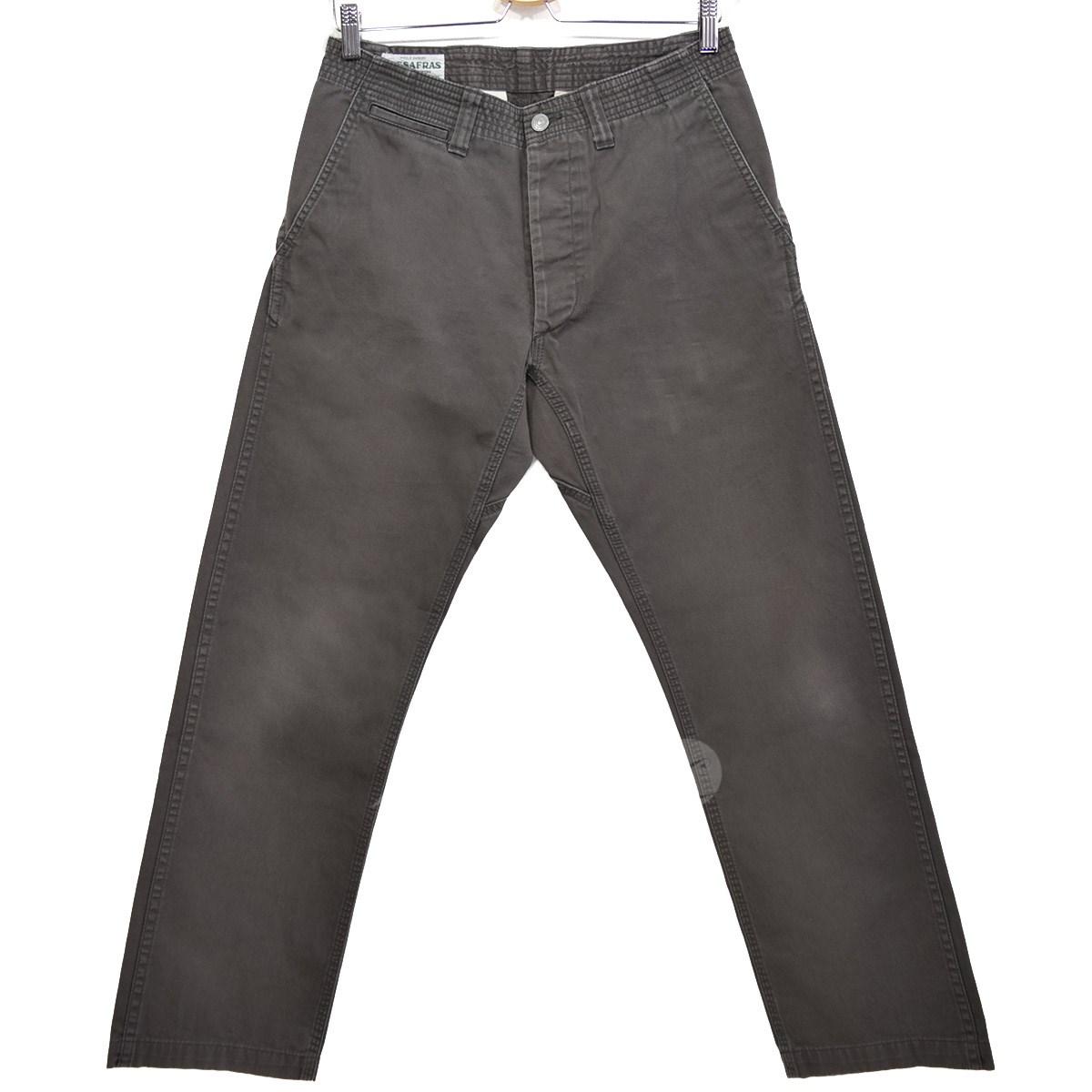 【中古】SASSAFRAS Sprayer Pants スプレイヤーパンツ グレー サイズ:M 【080218】(ササフラス)