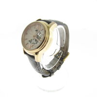 【中古】OROBIANCO自動巻き時計ゴールド×ブラウンサイズ:-【150218】(オロビアンコ)