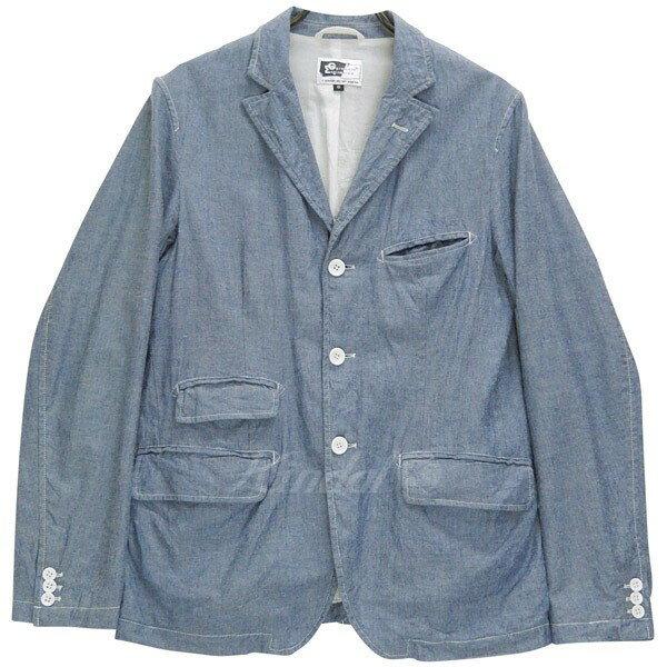 【中古】Engineered Garments アンドーバージャケット シャンブレー USA製 ネペンテス 【送料無料】 【001031】 【KIND1656】
