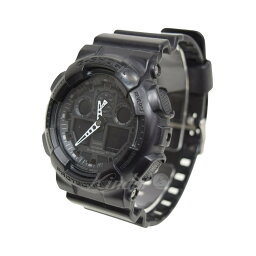 CASIO G-SHOCK手錶GA-100黑色尺寸:- (卡西歐)