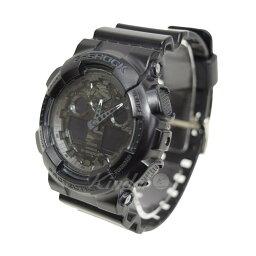 CASIO G-SHOCK手錶GA-100CF黑色尺寸:- (卡西歐)