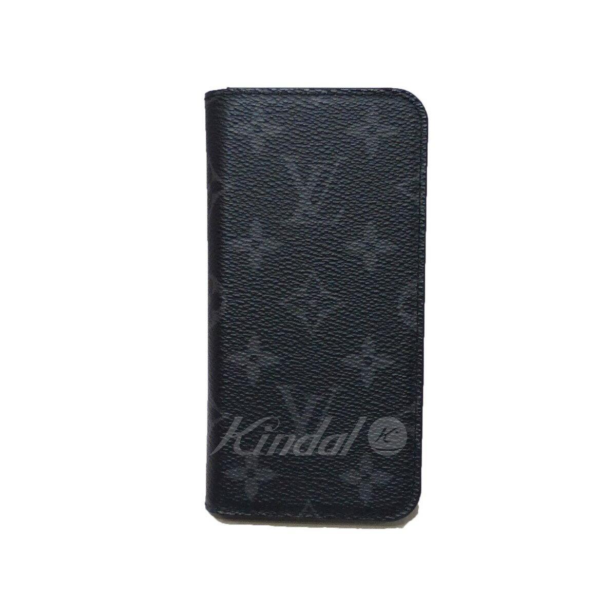 【中古】LOUIS VUITTON ルイヴィトン iPhone X ケース アイホン アイフォン チャコール サイズ:- 【送料無料】 【260618】(ルイヴィトン)