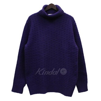 Time is on BIC silhouette turtleneck knit sweater purple size: F (thyme is on)