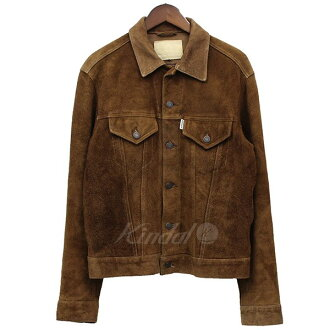 GENERAL RESEARCH suede cloth trucker jacket blouson brown size: L (ジェネラルリサーチ)