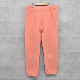 SUPREME 18SS Corner Label Sweatpant sweat shirt underwear pink size: L (シュプリーム)